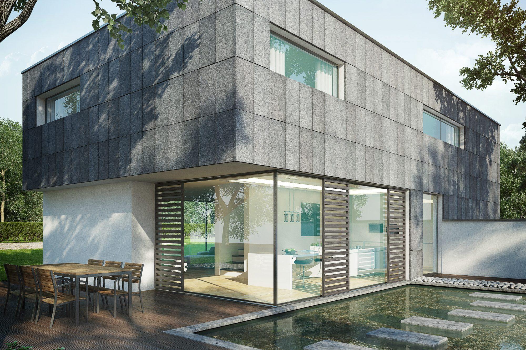 21 Pierre Bleue Belge - facade - Spuntato