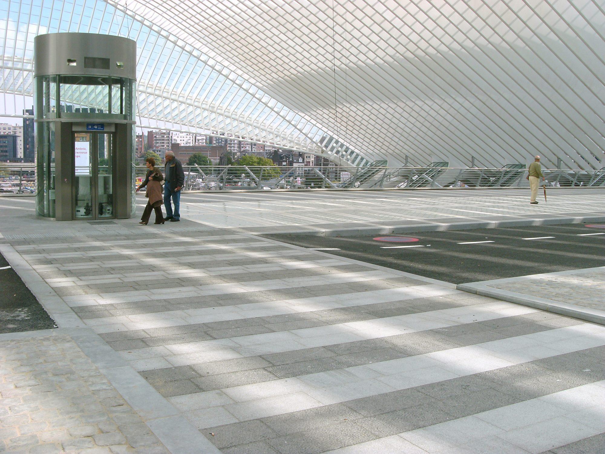 Railway Station Belgium - Belgian Blue Stone