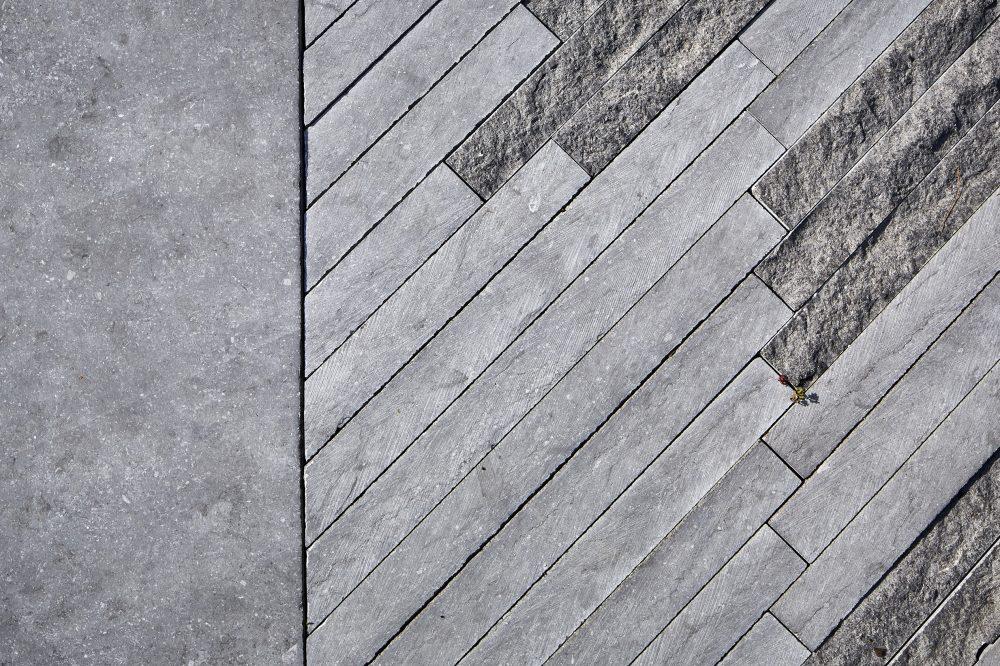 Nos finitions et textures - Pierre Bleue Belge