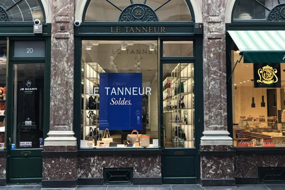The Galeries Royales Saint-Hubert - Belgian Blue Stone (3)