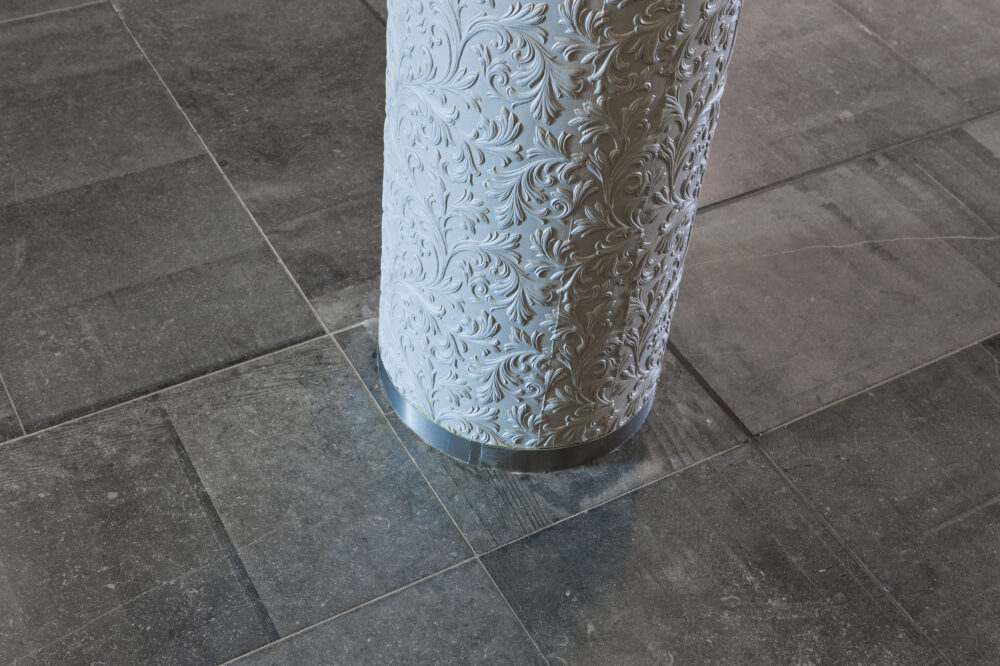Belgian Blue Stone floor tiles - natural stone - blue limestone