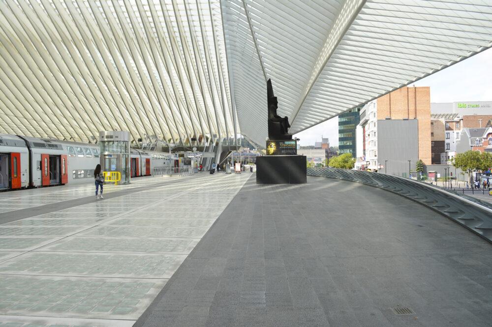 Belgian Blue Stone - Floor tiles petit granit - urban fittings and public spaces