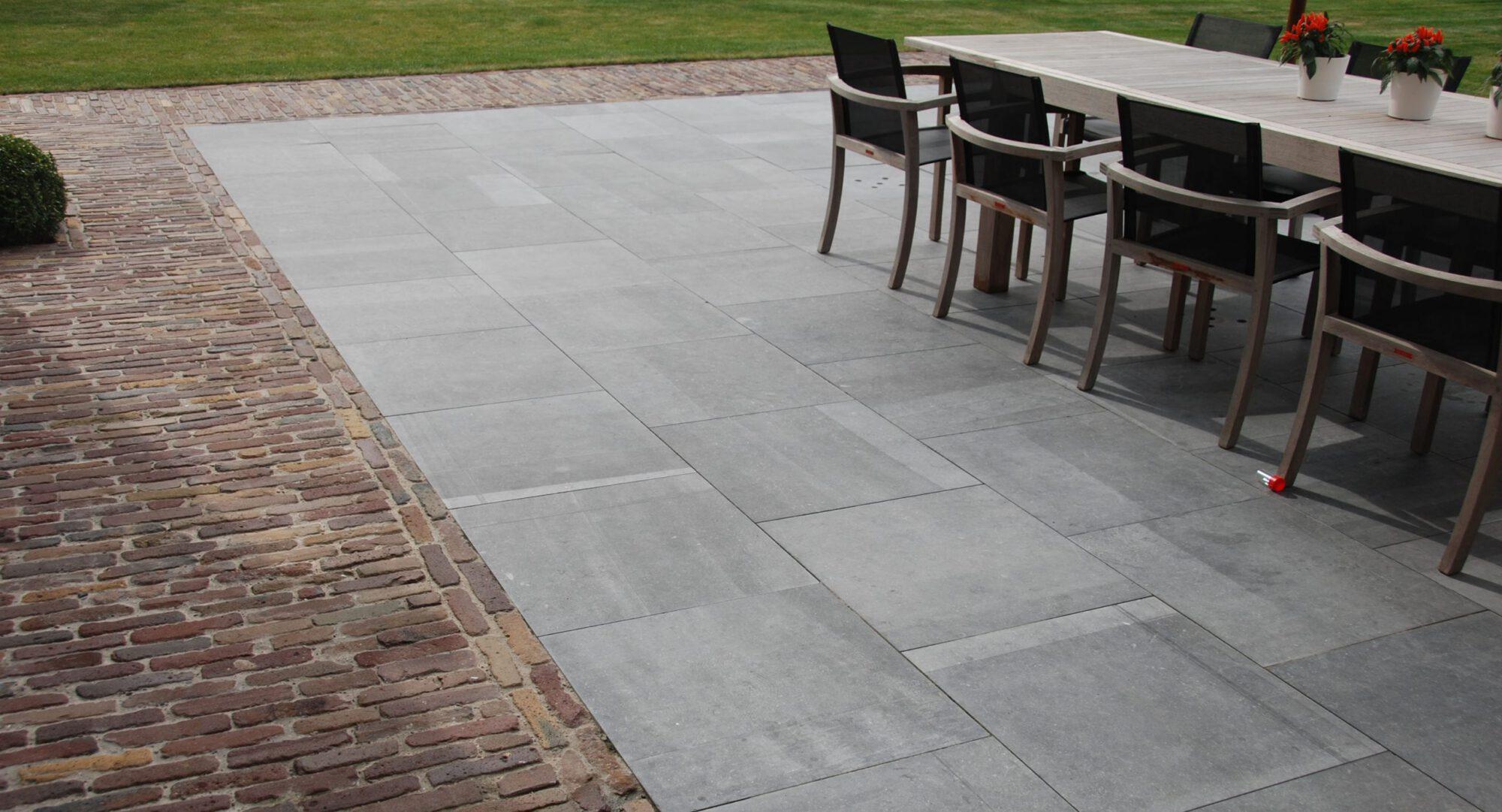 Belgian Blue stone - Floor tiles - Natural stone - Tiles Sawn