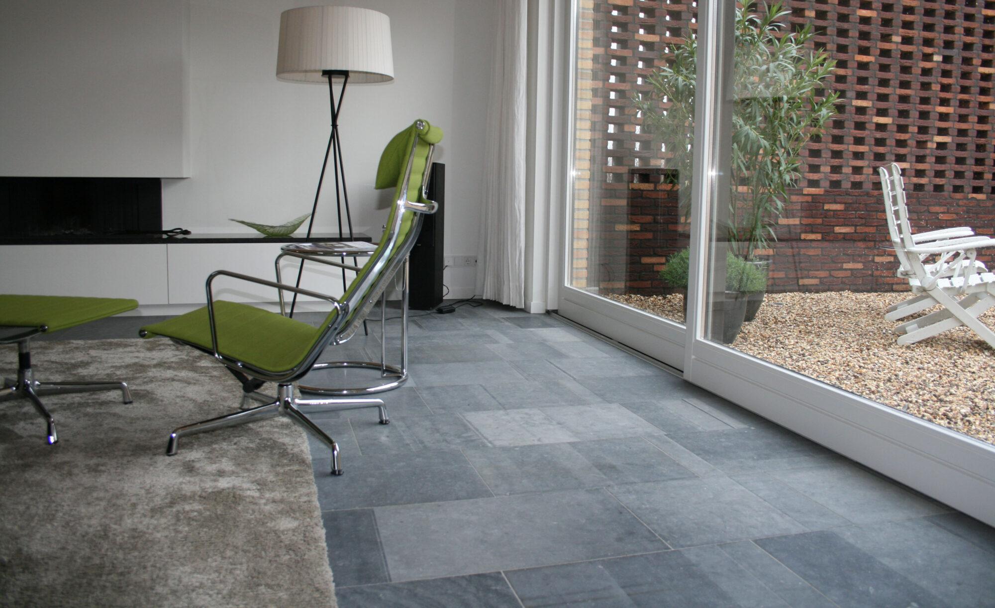 Belgian Blue stone - Floor tiles - Natural stone - Tiles Sawn 3