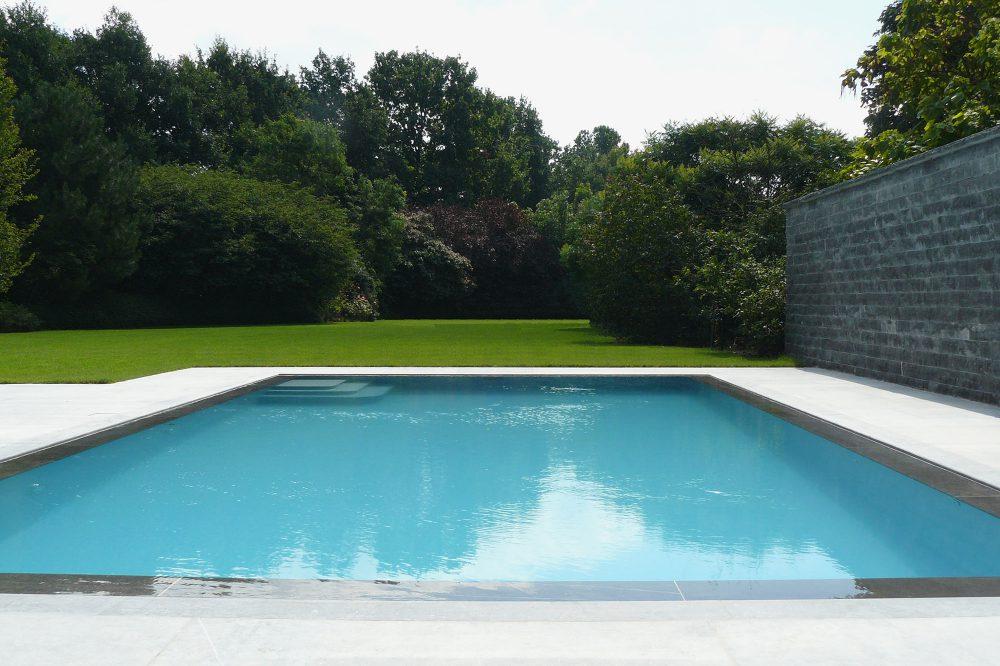 Spiegelzwembad Belgische blauwe hardsteen 3