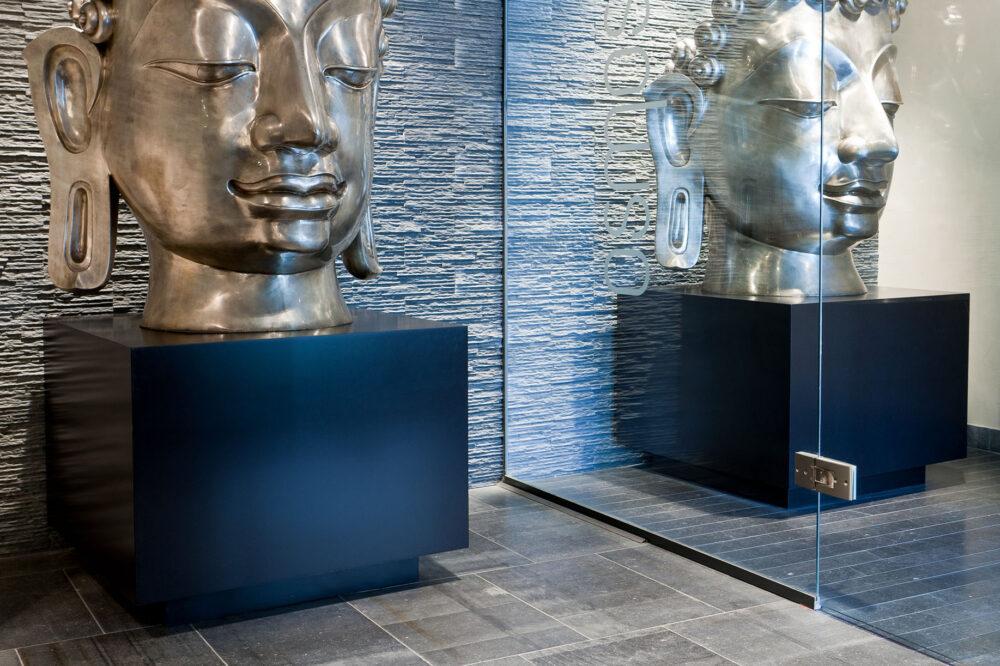 Belgische blauwe hardsteen - Ruw Gezaagd blauwsteen