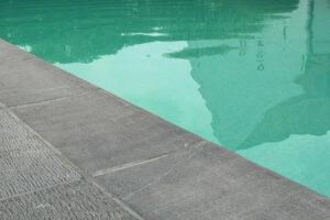 Belgische Blauwe Hardsteen - Vloertegels Oude Frijnslag - Tegels Sabbiato Grijs - Zwembad Gefrijnd