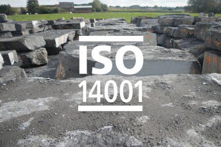 Pierre-bleue-belge-ISO 14001