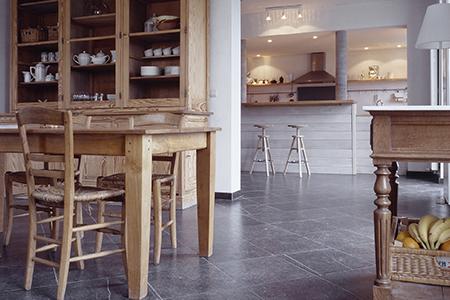 Fermette - rénovation Pierre Bleue Belge