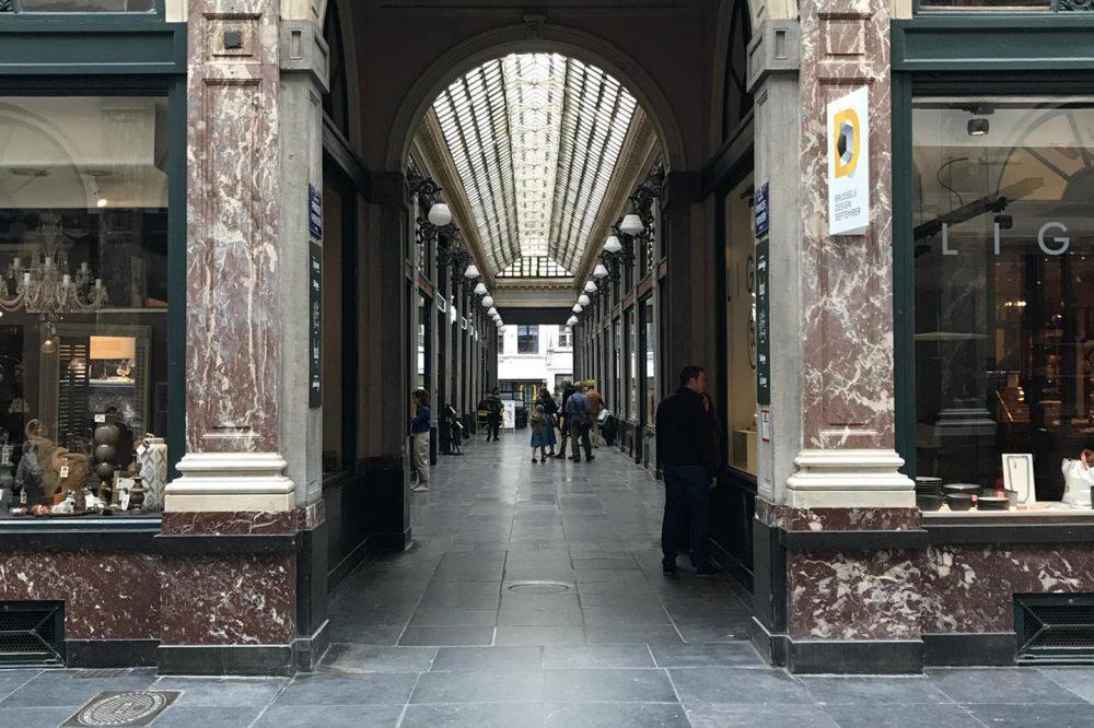 Galerie royales - pierre bleue belge 3