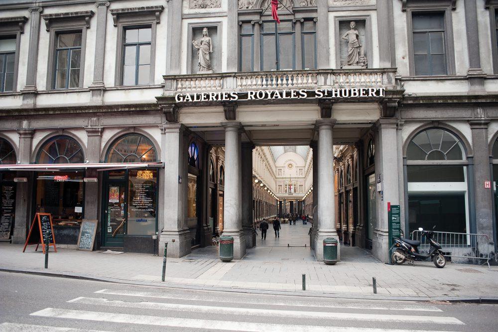Galerie royales - pierre bleue belge 5
