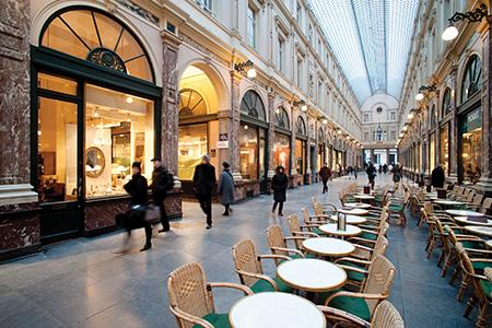 Galerie royales - pierre bleue belge