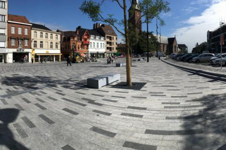 Changement de look pour la Grand-Place de Mouscron