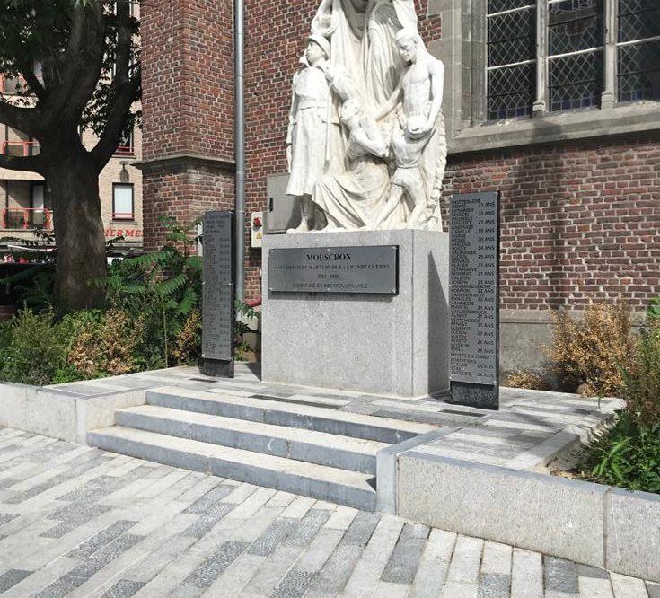Restauration du monument Pierre Bleue Belge