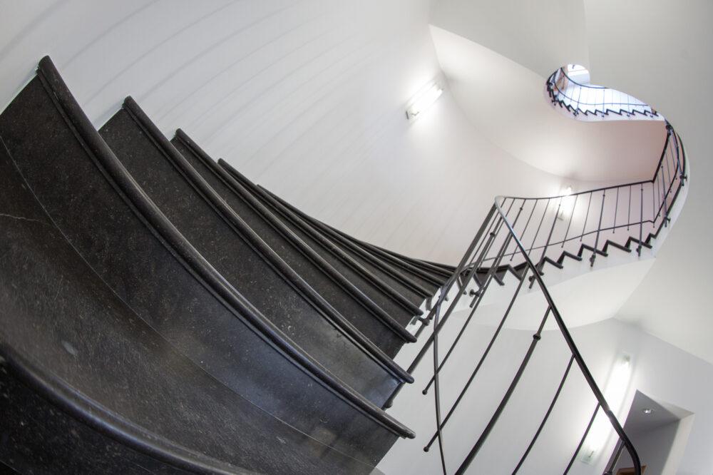 Pierre Bleue Belge - Escalier - Adouci Bleu