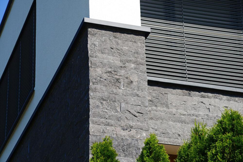 Pierre Bleue Belge - facade - clivoDECOR