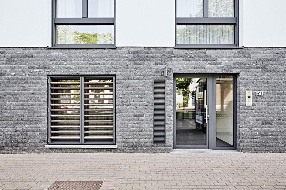Pierre Bleue Belge - facade parement - plaquette murale clivoDECOR