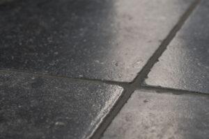 Pierre Bleue Belge - Dalles vieillies de Soignies Noir zoom