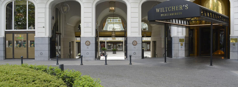Pierre Bleue Belge - Hotel Wiltchers Bruxelles - Aménagement extérieur - Clivé (4)