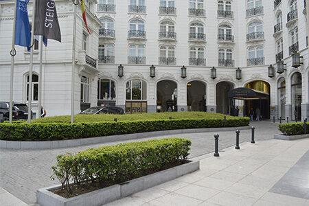 Pierre Bleue Belge - Hotel Wiltchers Bruxelles - Aménagement extérieur - Clivé (9)