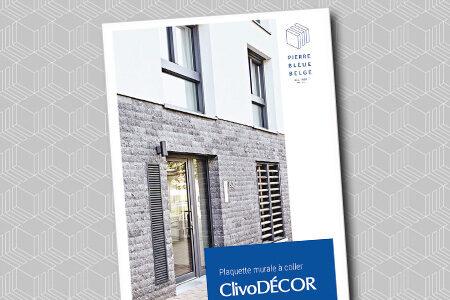 Pierre Bleue Belge - Brochure - Plaquette murale ClivoDECOR