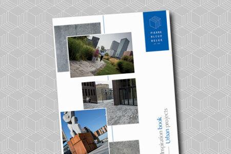 Pierre Bleue Belge - Brochure inspiration - Projects urbains - Aménagements publics
